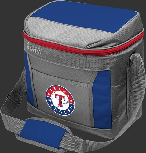 Rawlings Texas Rangers 16 Can Cooler In Team Colors With Team Logo On Front SKU #03140022111