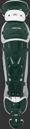 Dark Green/white LGPRO2 Pro Preferred adult leg guards