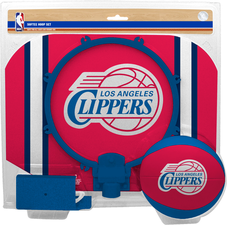 NBA Los Angeles Clippers Softee Hoop Set