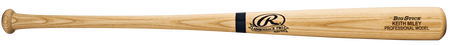 ABATSO natural color custom wood bat