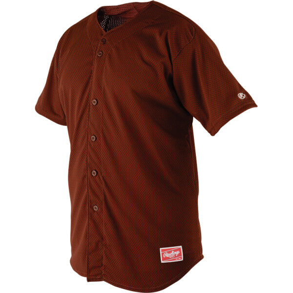 Youth Short Sleeve Jersey Cardinal