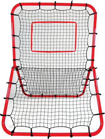 YCOM red Y-Frame comebacker training net