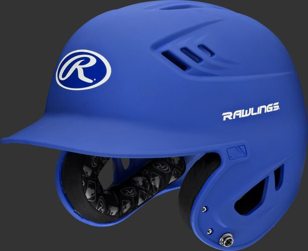 A royal R16MS Velo senior batting helmet with Cool-Flo vents