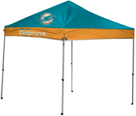 NFL Miami Dolphins 9x9 shelter with 4 team logos