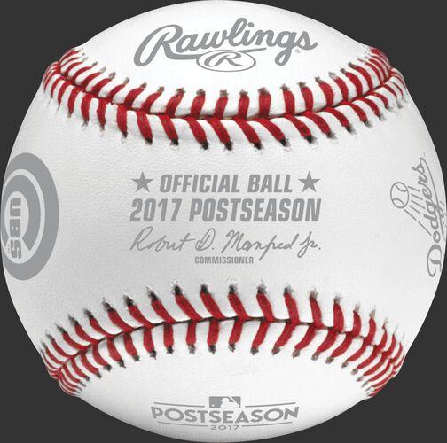 MLB 2017 National League Championship Series Dueling Baseball