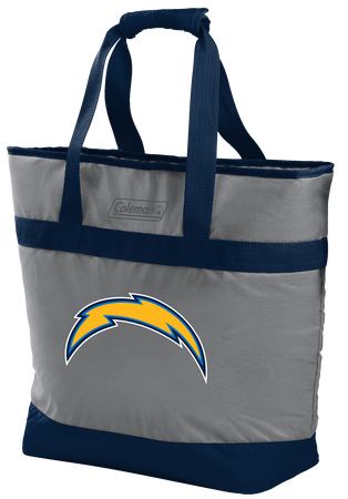 NFL Los Angeles Chargers 30 Can Tote Cooler