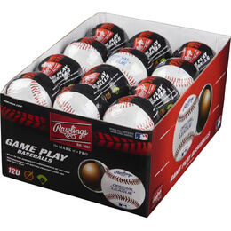 24 Pack Youth 12U Game Play Baseballs