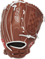 R9SB120-3DB 12-inch R9 softball infield/pitcher's glove with a brown back and Pull-Strap back design image number null