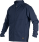 A navy Gold Collection mid weight jacket with long sleeves and full zip - SKU: GCMW2-N image number null