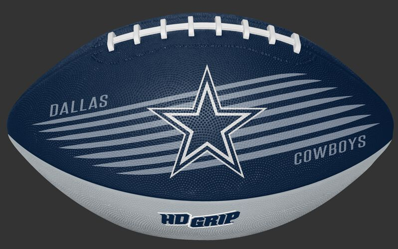 Navy NFL Dallas Cowboys Downfield Youth Football With Team Logo SKU #07731065121
