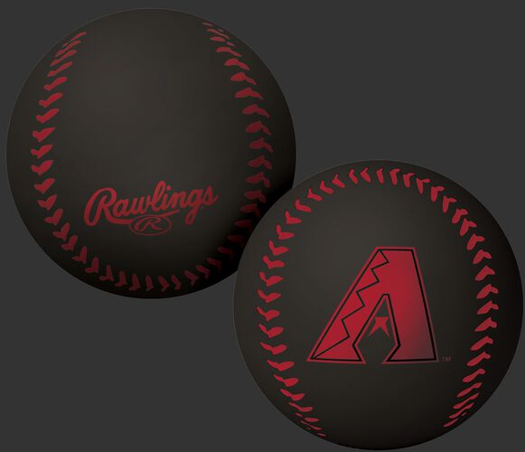 Rawlings Arizona Diamondbacks Big Fly Rubber Bounce Ball With Team Logo on Front In Team Colors SKU #02870010112