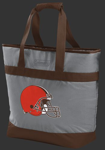 Rawlings Cleveland Browns 30 Can Tote Cooler In Team Colors With Team Logo On Front SKU #07571064111