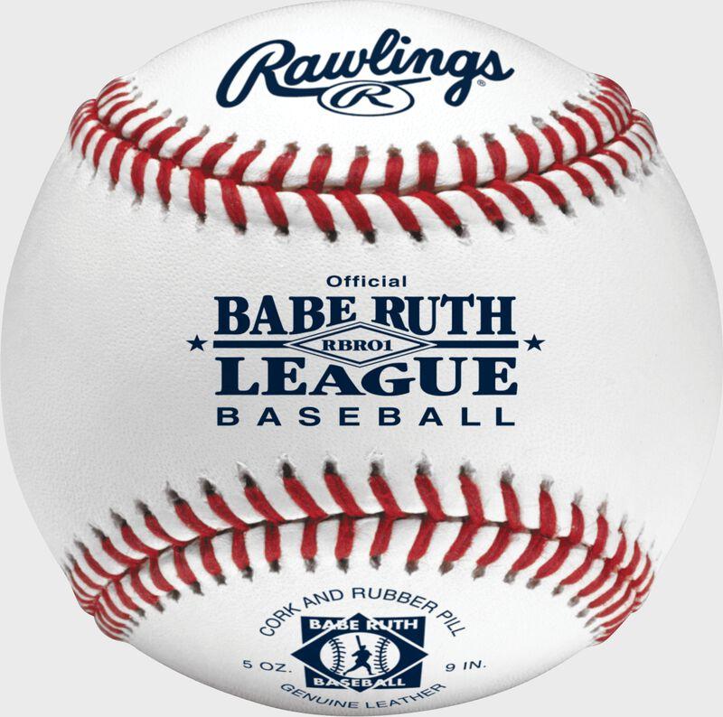RBRO1 Babe Ruth competition grade baseball with raised seams