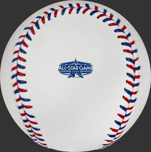 2020 All-Star game logo stamp on a MLB baseball - SKU: EA-ASBB20-R
