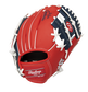 Back of a red/navy St. Louis Cardinals 10-inch I-web glove with a red Rawlings patch - SKU: 22000007111 image number null