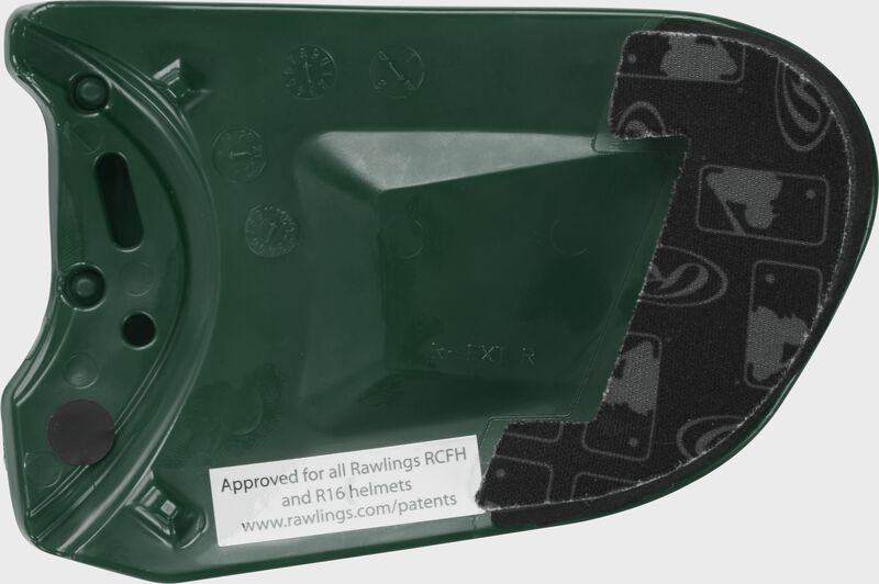 R-EXT Universal Batting Helmet Extension For Left-Handed Batter