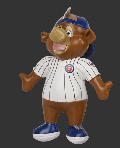 Rawlings MLB Chicago Cubs Mascot Softee With White Team Jersey and Blue Team Backwards Hat SKU #03770008111