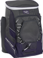 Front left angle of a purple Rawlings Impulse bag with gray accents - SKU: IMPLSE-PU image number null