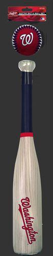 MLB Washington Nationals Bat and Ball Set