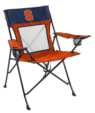 NCAA Syracuse Orange Game Changer chair with the team logo