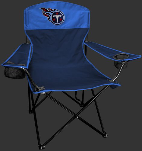 Front Of Rawlings Blue and Navy NFL Tennessee Titans Lineman Chair With Team Logo SKU #31021069111