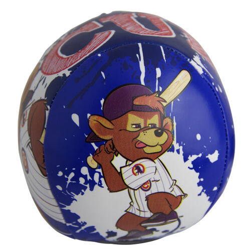 Rawlings Chicago Cubs Quick Toss 4'' Softee Baseball With Team Mascot On Front In Team Colors SKU #01320008113