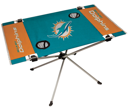 NFL Miami Dolphins Endzone Table