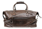 Back of a brown Rawlings rugged duffle bag with a side zip compartment - SKU: RS10023-200 image number null