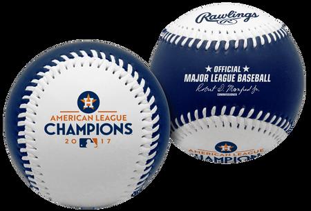 2017 Houston Astros American League Champions Replica Baseball