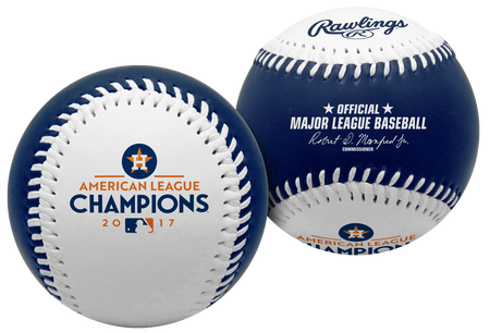 2017 Houston Astros American League Champions Replica Baseball