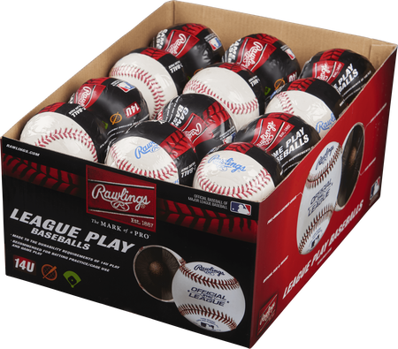 24 Pack Youth 14U Game Play Baseballs