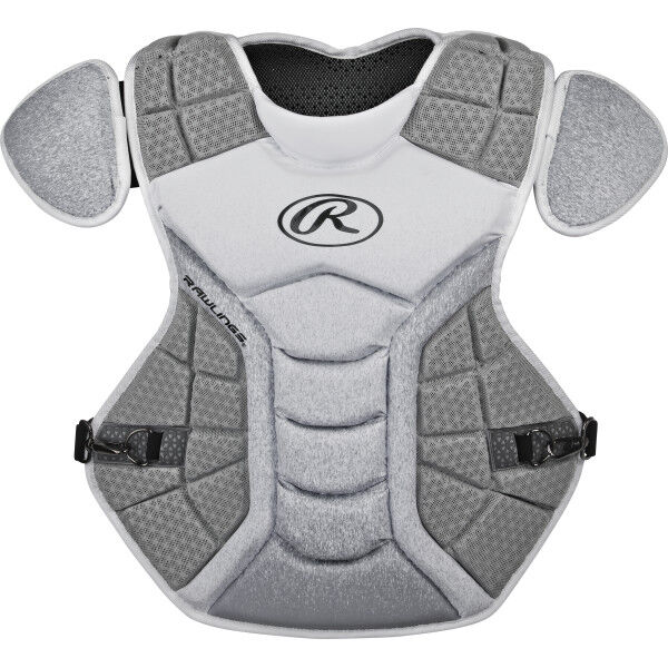 Velo Adult Chest Protector White/Silver