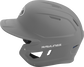 MACH Rawlings batting helmet with a one-tone matte silver shell image number null