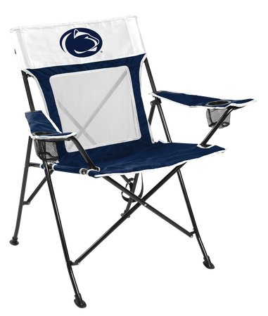 NCAA Penn State Nittany Lions Game Changer chair with the team logo