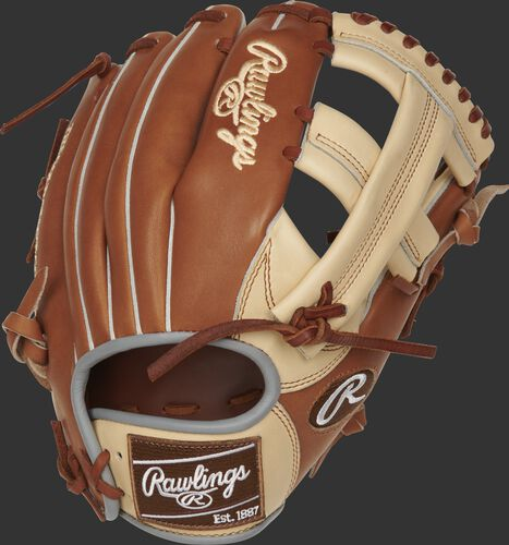 PROTT2-20CGB 11.5-inch Heart of the Hide ColorSync infield glove with a golden brown back