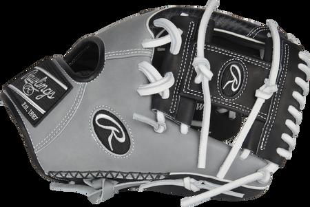 RAWLINGS en cuir noir baseball-fanatiques