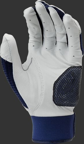 White palm of a navy WH950BG-N Workhorse batting glove