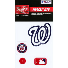 MLB Washington Nationals Decal Kit