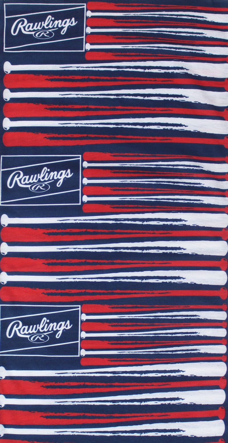 Rawlings Adult Multi-Functional Head and Face Gear   Flag & Bats