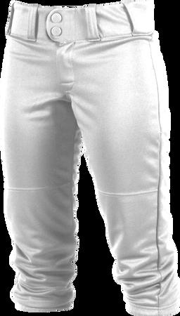 Girl's Low-Rise Softball Pant