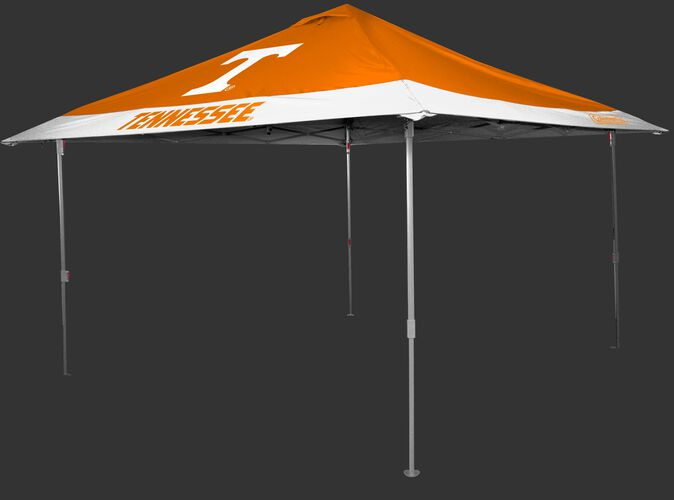 Rawlings Orange and White NCAA Tennessee Volunteers 10x10 Eaved Canopy With Team Logo and Name SKU #07843101111