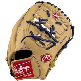 Purple/Gold Custom Glove
