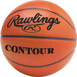 "Contour 29.5"" Basketball with Association Stamp"