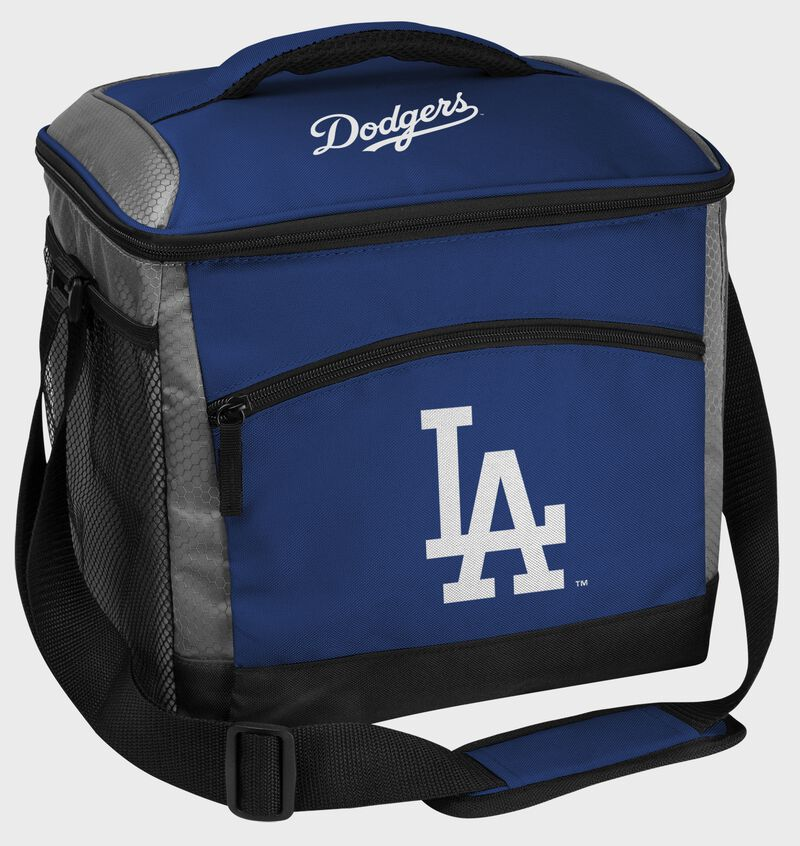 A Los Angeles Dodgers 24 can soft sided cooler