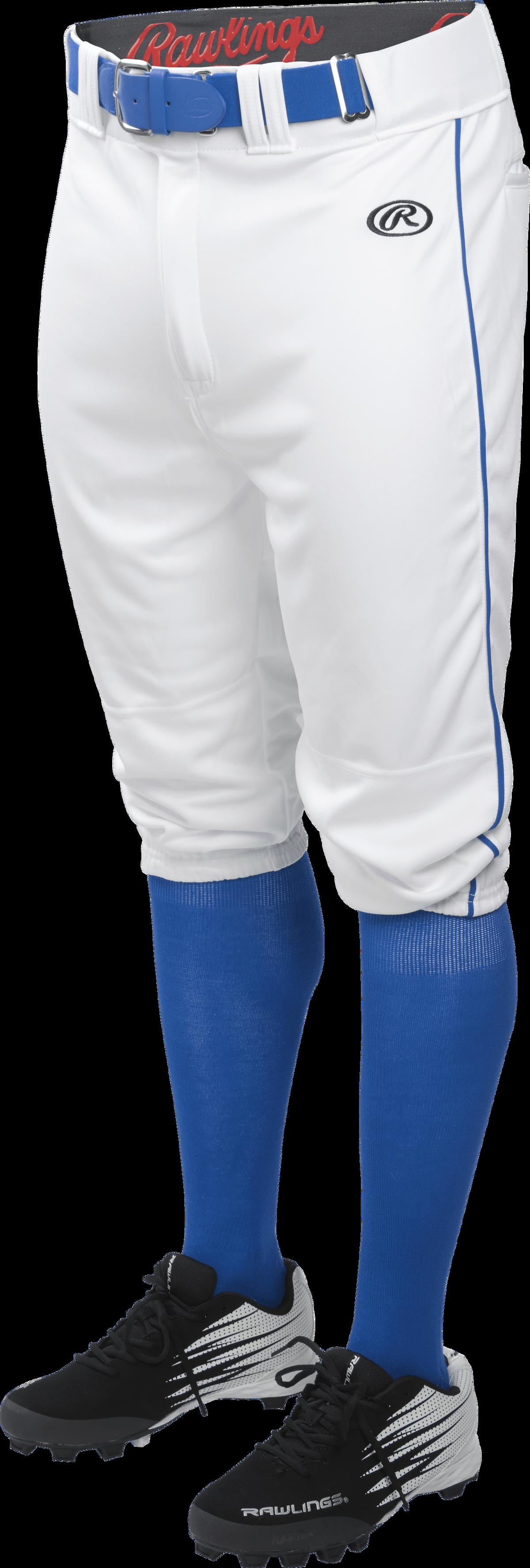 Rawlings Men/'s Launch Knicker Piped Baseball Pant