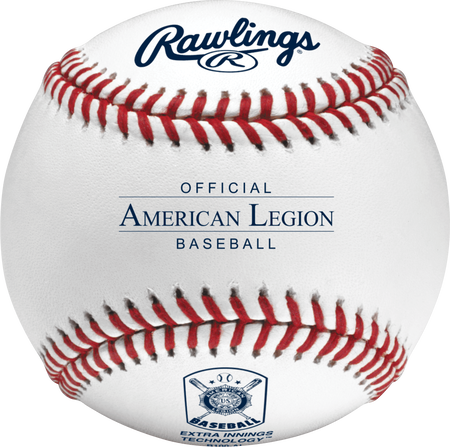R100-AL Official American Legion baseball with the American Legion logo