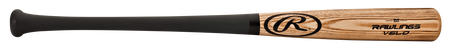 151T Rawlings youth wood bat with a black handle