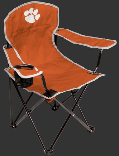 Front of Rawlings Orange NCAA Clemson Tigers Youth Chair With Team Logo #04073010111