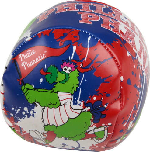 Rawlings Philadelphia Phillies Quick Toss 4'' Softee Baseball With Team Mascot On Front In Team Colors SKU #01320020112