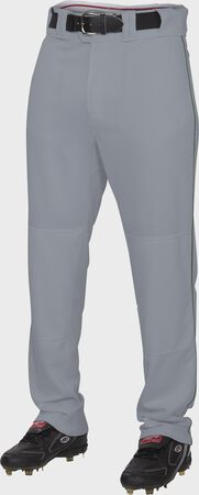 Semi-Relaxed Piped Baseball Pants   Adult & Youth